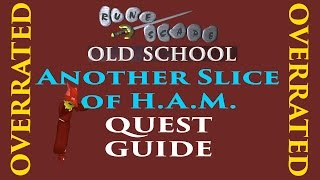 road to quest cape ep 2 another slice of h a m runescape 2007 quest guide