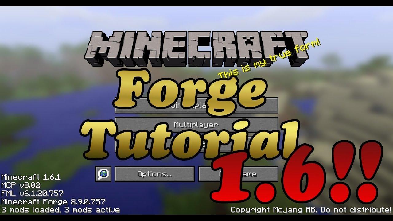 minecraft 1.6 4 forge launcher