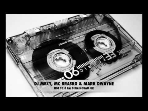 Dj Mexy, MC Brasko, Mark Dwayne - Hot 92.0 FM - BIRMINGHAM UK Pirate Radio