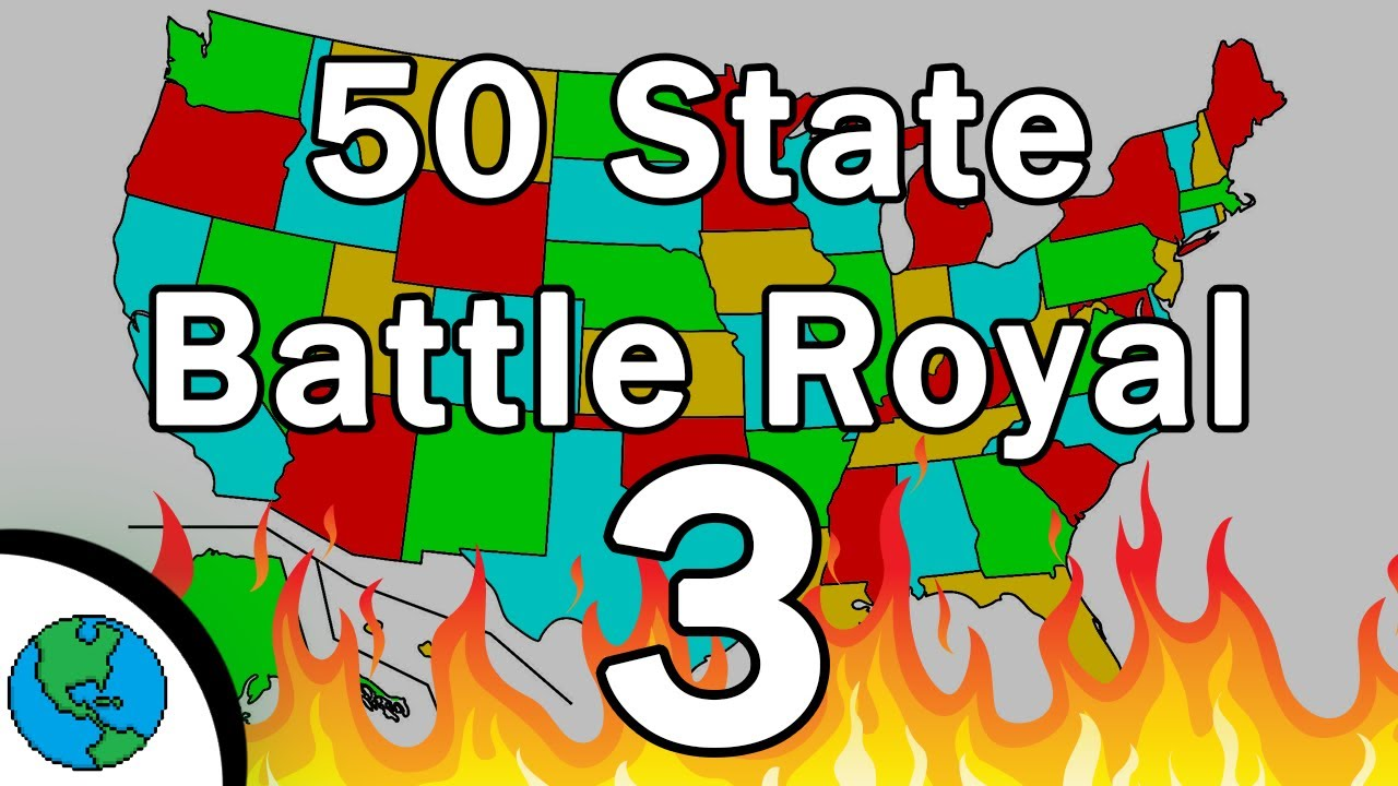 50 States Battle Royal! Will Your State Win!?