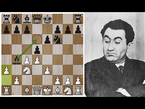 Тигран Петросян Наказывает Фишера за чудачества в дебюте! Шахматы.