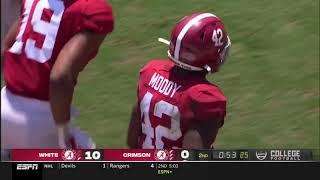 Alabama 2021 A-Day Highlights | Bryce Young, Agiye Hall, Chris Braswell