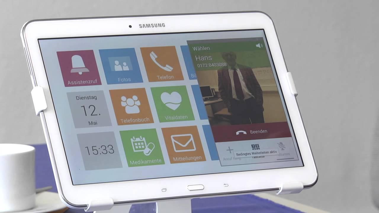 gesund im harz folge 11 tablet f r senioren youtube. Black Bedroom Furniture Sets. Home Design Ideas