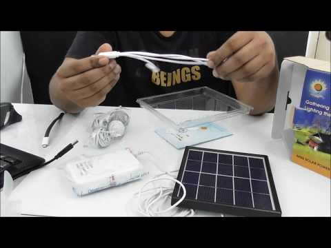 emergency mini solar power system every home must have it