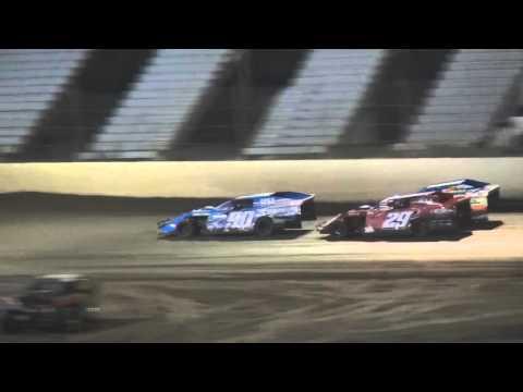 King of Kansas City Valley Speedway A&B Mods Eilliot Isaac Win 10 3 15 - dirt track racing video image