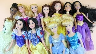 VBlog: My collection of Disney Princesses