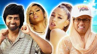 Nicki Minaj, Ariana Grande - Bed | My Parents React (Ep. 29)