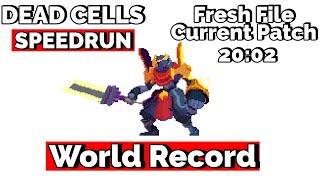 Dead Cells Speedrun - Fresh File Current Patch - 20:02 WR