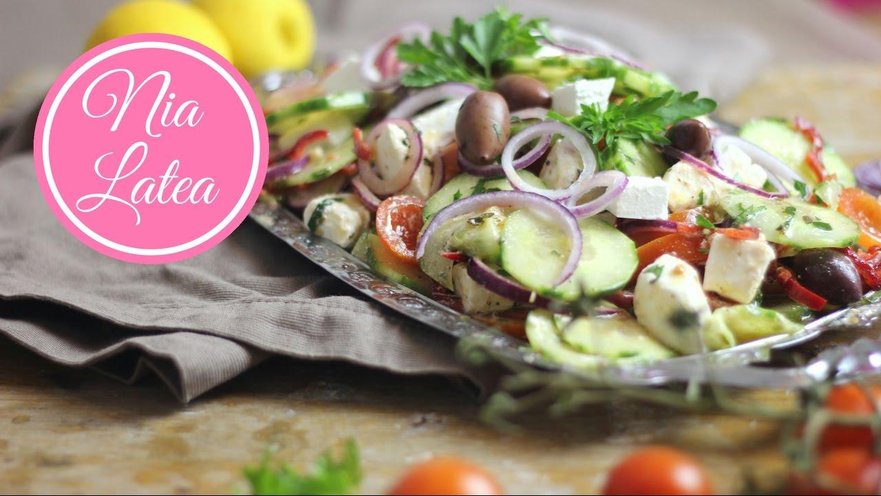 Griechischer Bauernsalat - χωριάτικη σαλάτα I Choriatiki I ...