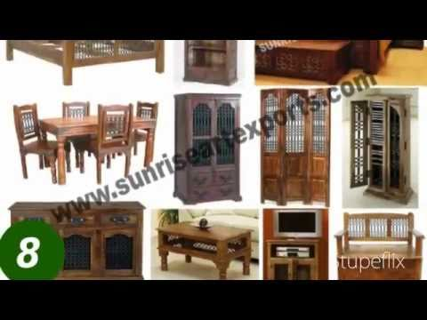 Manufacturer Exporters Suppliers Of Solid Indian Wooden Furniture And  Handicrafts From India