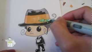 How to draw Reborn from Katekyo Hitman Reborn! リボーン