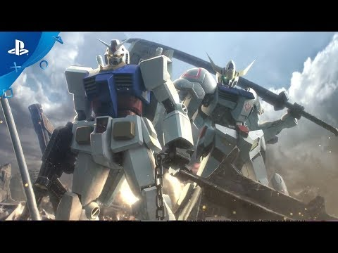 GUNDAM VERSUS Gameplay Trailer | PS4