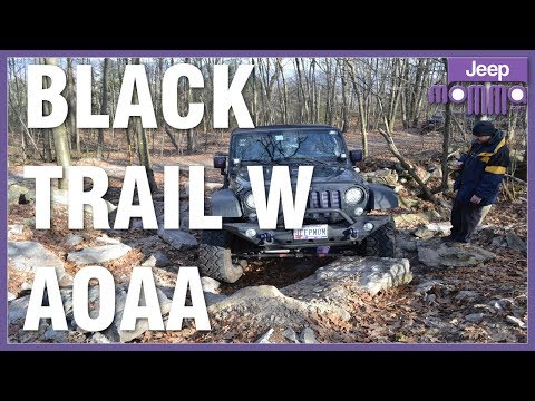 Jeep Momma Freaks Out on Black Trail W at AOAA - Mom Screams OffRoad
