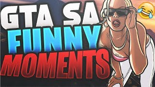 GTA San Andreas Multiplayer MOD!-GTA SAMP Gameplay PC 2017(Funny Moments and Fails)