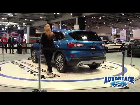 Calgary International Auto & Truck Show -  New 2020 Escape Overview | Advantage Ford