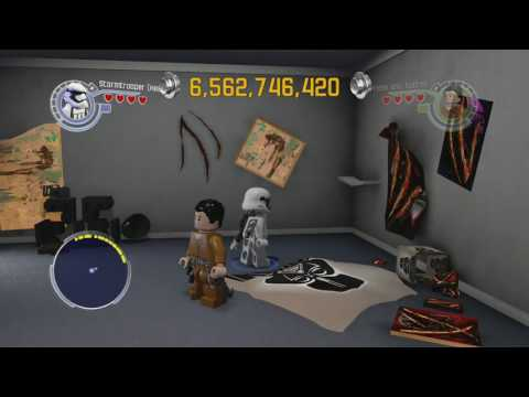 LEGO Star Wars The Force Awakens 100% Guide - Starkiller Base Hub All Collectibles Guide Part 1
