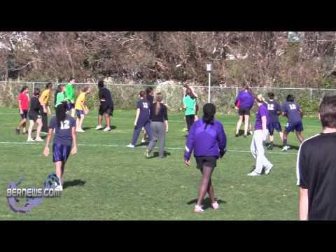 #2 Western Ontario University Women's Rugby Visit Warwick Academy Bermuda Feb 24th 2011