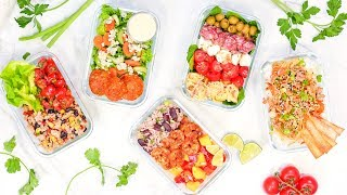 Week 1 | 5 Healthy Back-To-School MEAL PREP Recipes 2018 + SPECIAL ANNOUCEMENT