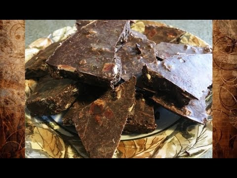 Homemade Healthy Chocolate (No Sugar! Easy!)