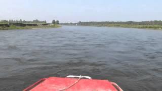 09 река Китой Россия 2013 туризм катер river Kitoy Russia Boat fishing hunting рыбалка охота travels