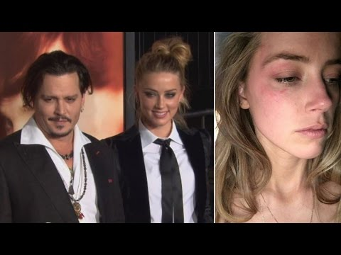 Johnny Depp / Amber Heard Divorce Getting Violent?