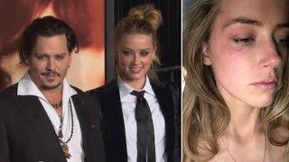 Johnny Depp / Amber Heard Divorce Getting Violent?