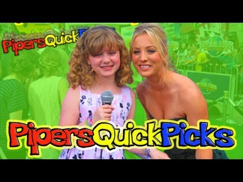 KALEY CUOCO from Big Bang Theory and Charmed with PIPER REESE at the HOP PREMIERE!