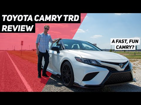 2020 Toyota Camry TRD Drive Review: Should You Buy It?