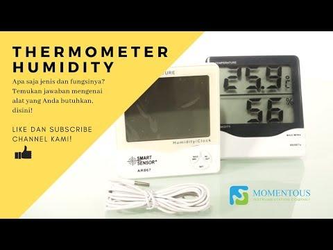 Thermometer Humidity (Thermohygrometer): Jenis dan Fungsinya