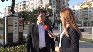Türkiyə  Aksaray seheri  Qarabağ parkı  və Xaribülbül abidəsinin acilisi Space Tv Vusale Abbasova