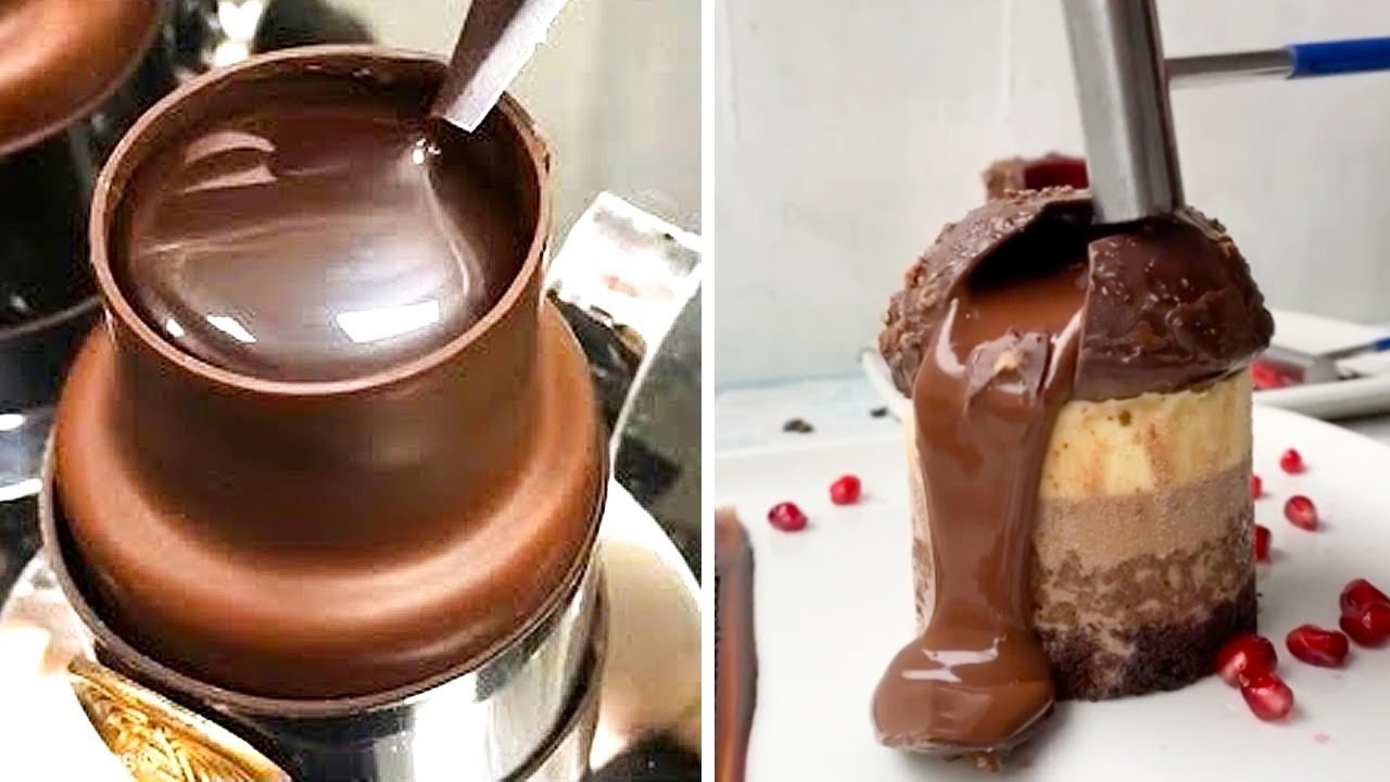 Download Delicious Chocolate Cake Recipes | So Yummy Chocolate Cake Decorating Ideas | Easy Chocolate Cakes