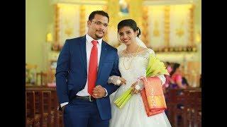 Geo & Dophy Wedding Highlights Christian Wedding