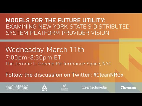 Models for the Future Utility: Examining NY State's Distributed System Vision
