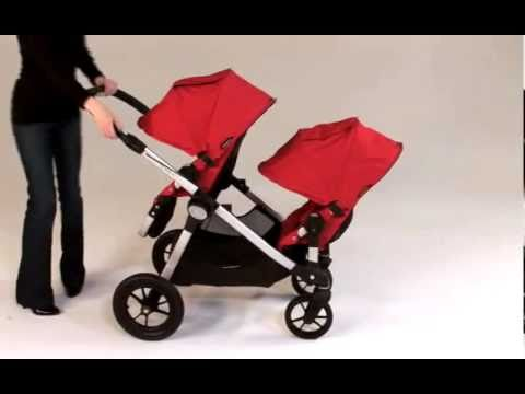 Baby Jogger City Select Tandem Video Demo from twins-store.co.uk ...