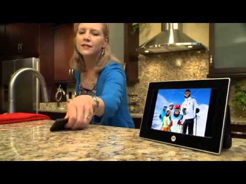 Motorola Mfv700 7 Inch Digital Picture Frame Youtube