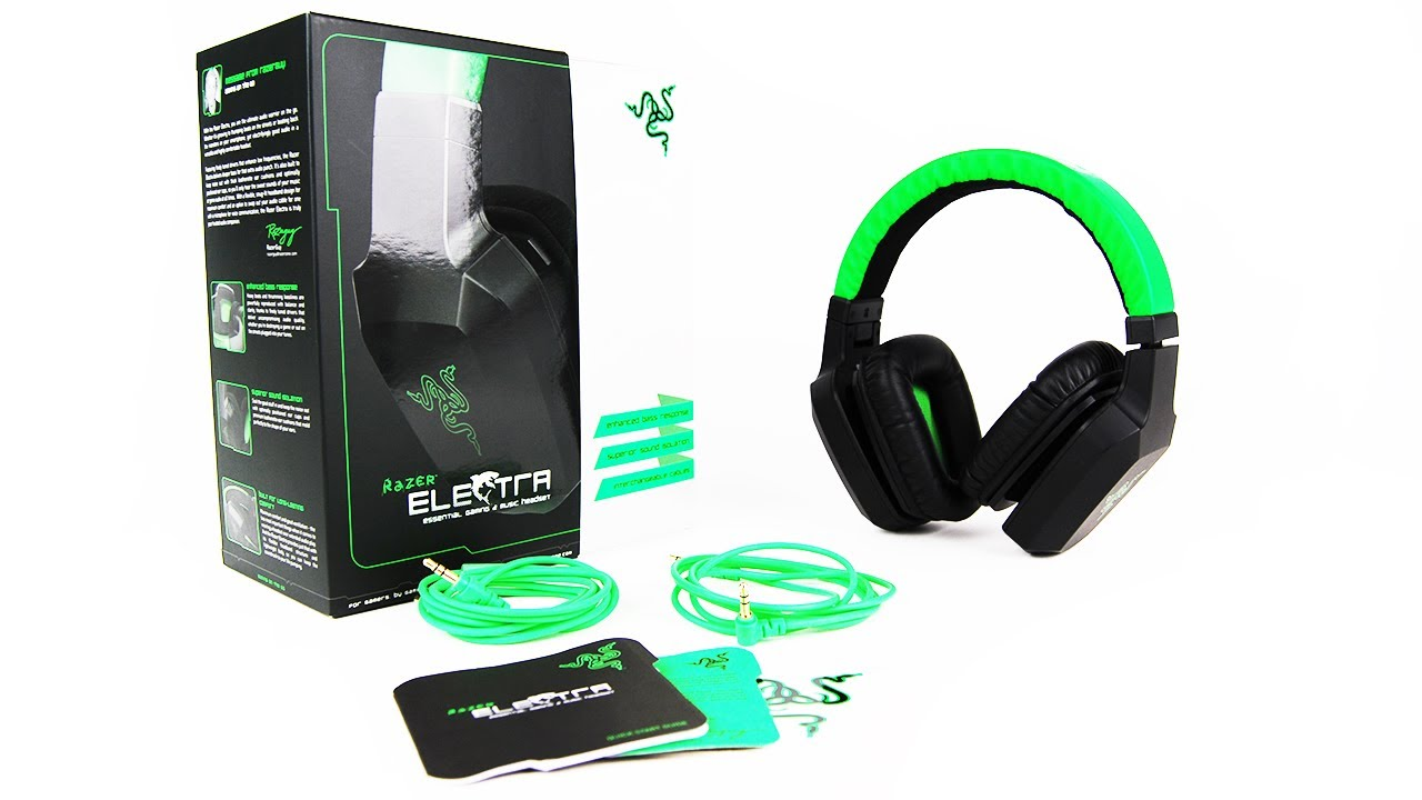 Razer Electra Headphones Unboxing Review Unboxholics