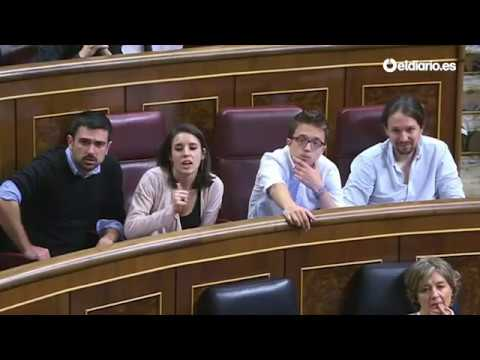 Hernando acusa a Podemos de relacionarse con dictaduras y los diputados abandonan el hemiciclo