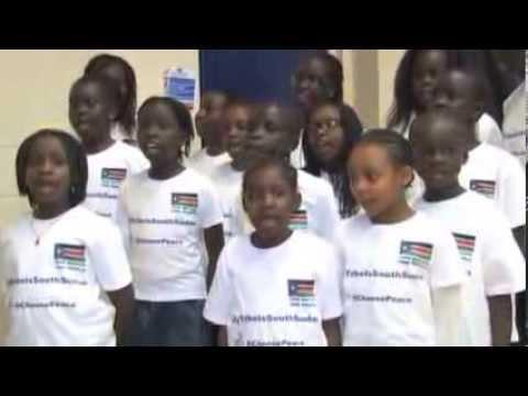 South Sudan Diaspora in London Pray for Peace in the Homeland