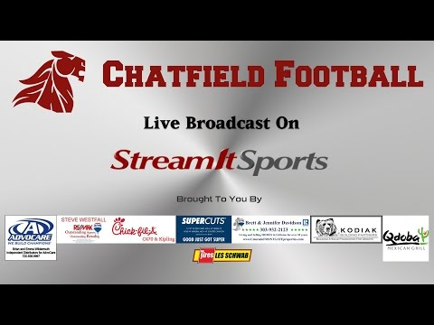 FOOTBALL: Chatfield HS vs Heritage HS - 11/4/16