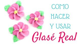 receta glasé real
