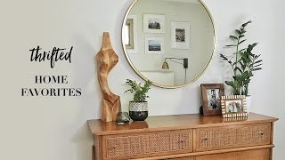 My Favorite Thrifted Home Decor Finds