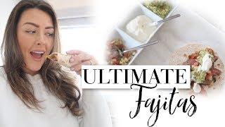 COOK WITH ME | ULTIMATE BEEF FAJITAS 🤤🌯