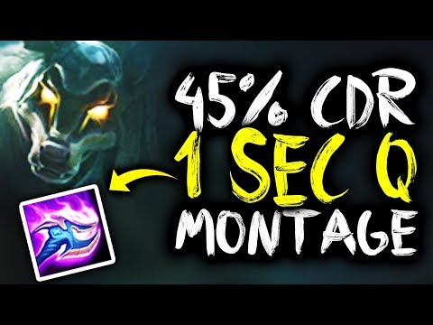 SirhcEz - NASUS BUFFS MONTAGE 45% CDR 1 SECOND Q'S