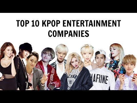 [TOP 10] KPOP ENTERTAINMENT COMPANIES   All Their Artists