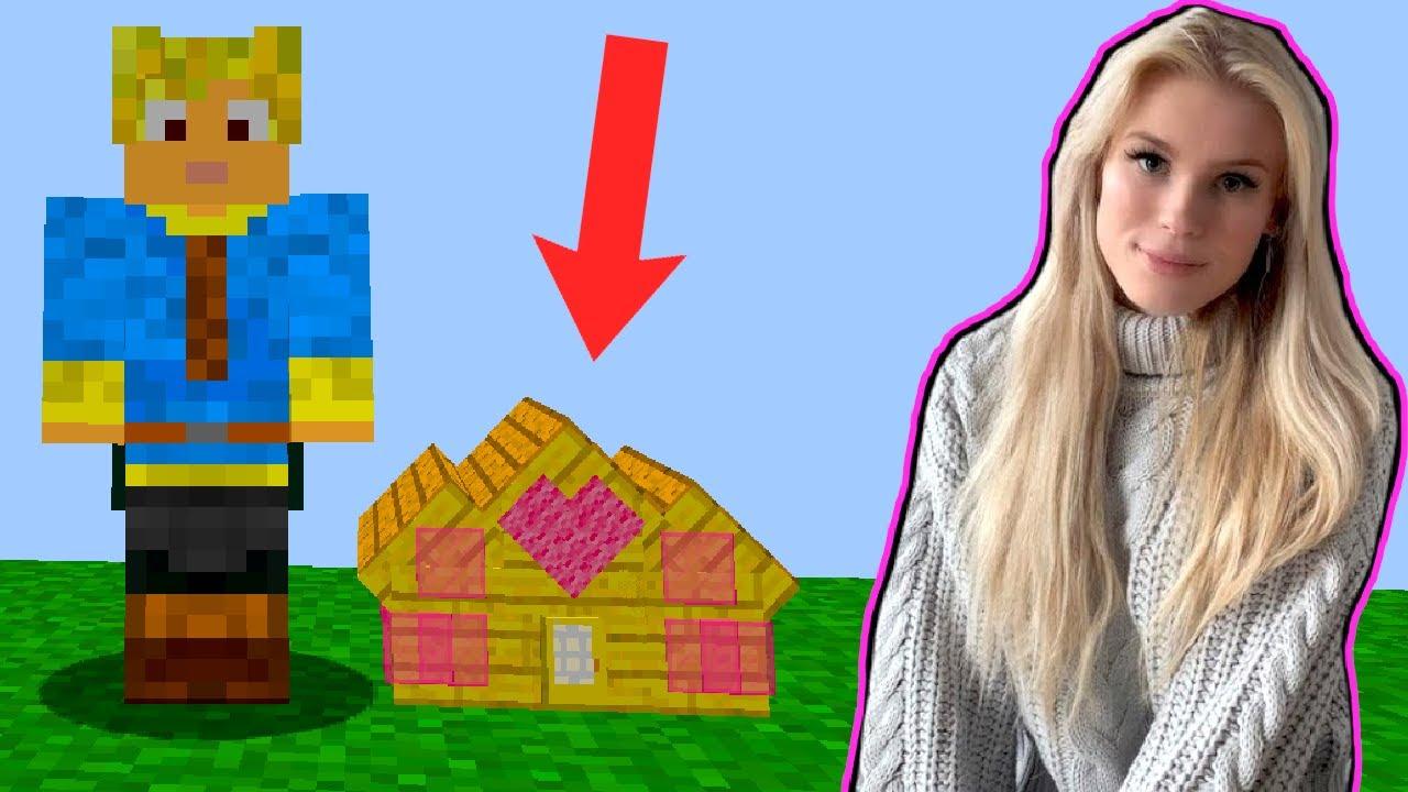 Finder Min Kærestes Mini Base! - Dansk Minecraft