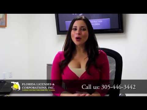 Video Spokesperson for Florida Licenses & Corporations Inc.