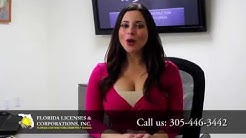 Video Spokesperson for Florida Licenses & Corporations Inc.