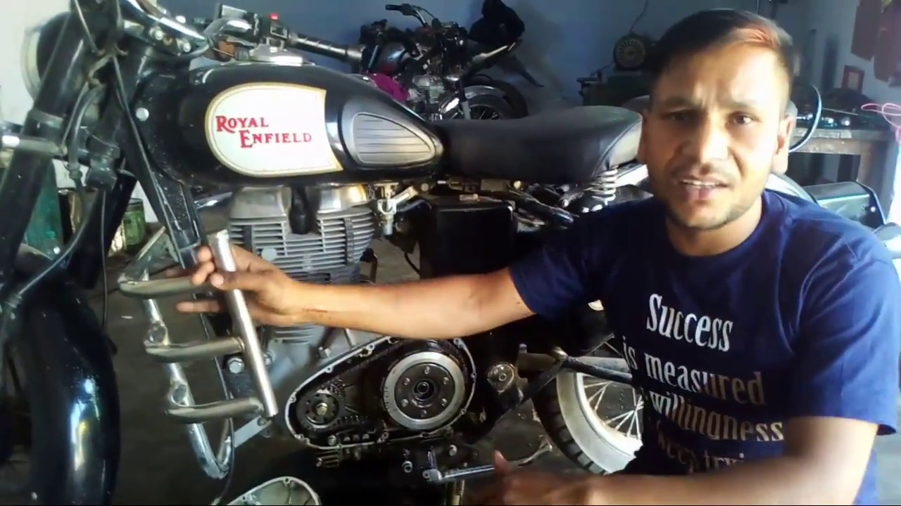 Royal Enfield Classic Starting Self Problem Bullet Youtube Diagram Electra Wiring In Addition