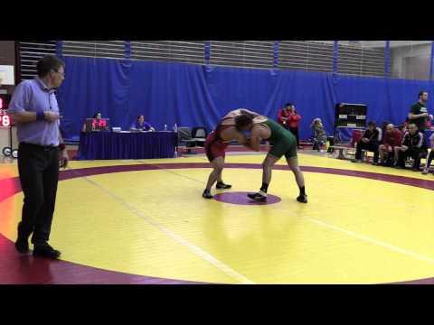 2015 Canada West Championships: 100 kg Justin Ramgotra vs. Jacob Luczak
