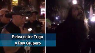 Carlos Trejo golpea al youtuber Rey Grupero
